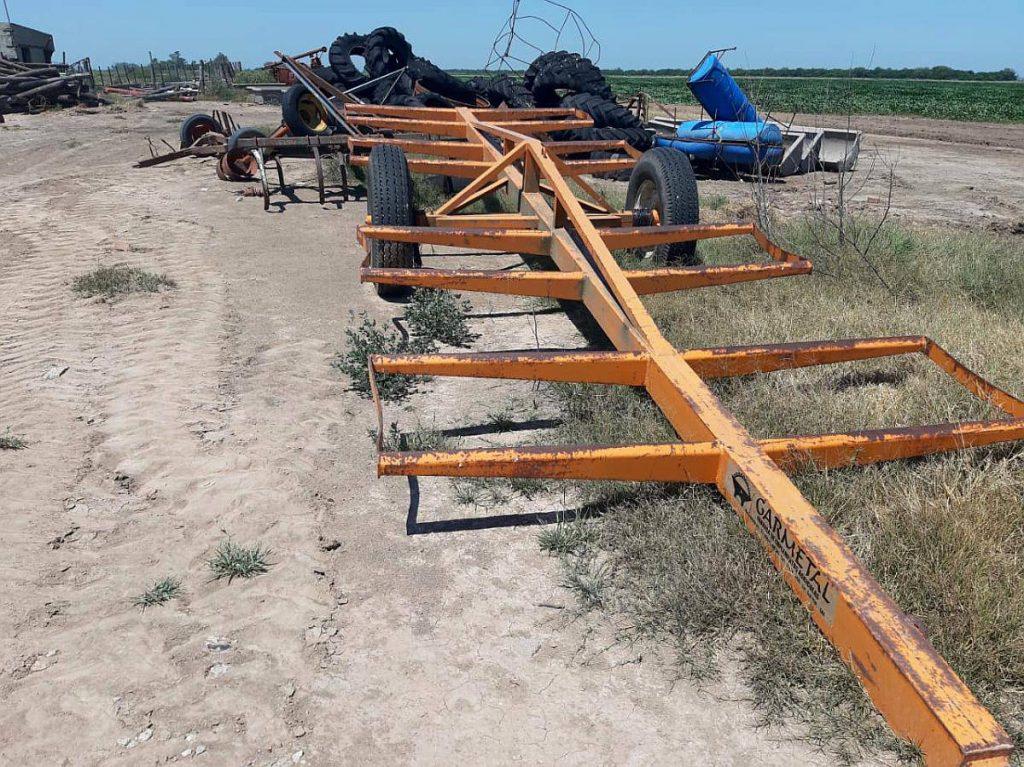 Transportador Garmetal para 8 Rollos en muy Buen Estado